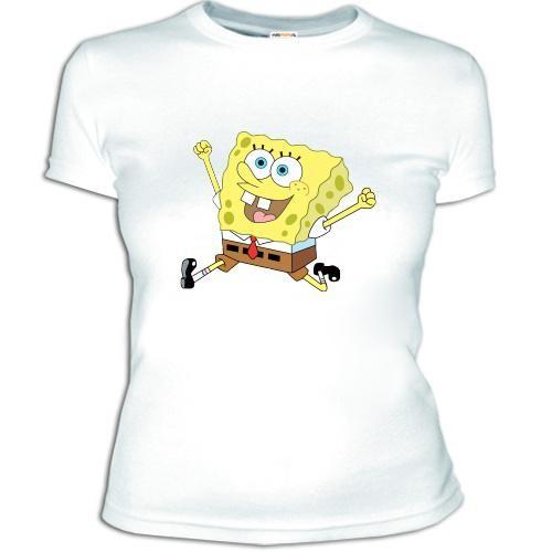 Женская футболка 'Спанч Боб 2