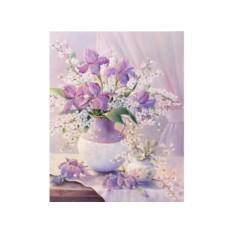Картина по номерам Menglei «Воздушный букет»