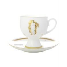 Фарфоровая чашка с кофейным блюдцем Музы Летнего Сада 1