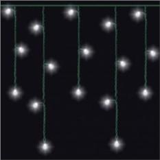 Светодиодная бело-зеленая гирлянда «Дождь» Mister Christmas