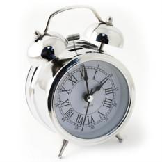 Хромированный будильник D7