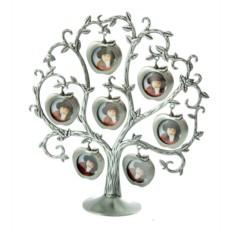 Фоторамка-дерево с яблоками на 6 фото