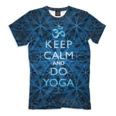 Мужская футболка Keep Calm