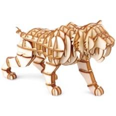 3D пазл Саблезубый тигр