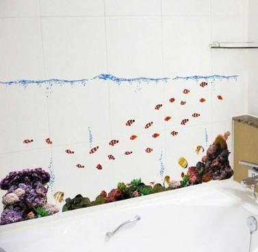 Набор интерьерных стикеров 20 тысяч лье под водой