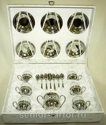 Кофейный набор на 6 персон Гамма экстра-люкс