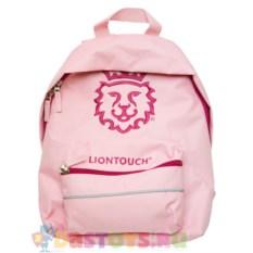 Детский розовый рюкзак Liontouch