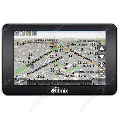 Автомобильный GPS-Навигатор RITMIX RGP-575 [Navitel]
