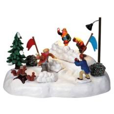 Настольная композиция Игра в снежки