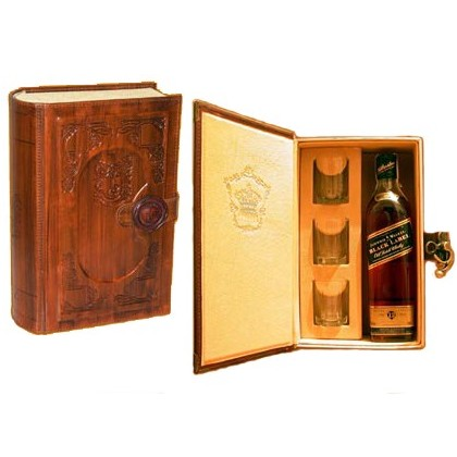 Книга-минибар для виски Чистый виски