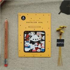 Наклейки декоративные Lovely Pandas