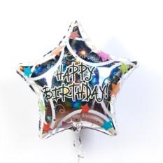 Фольгированная звезда С днем рождения!