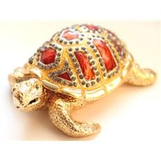 Шкатулка со стразами Черепаха