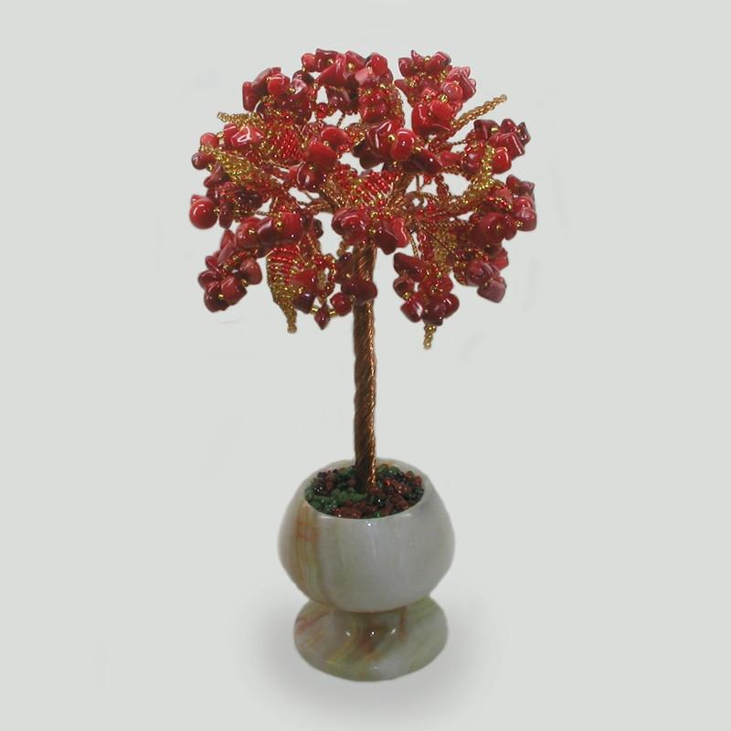 Дерево из коралла Подарок любви