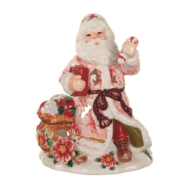 Фигурка-подсвечник Дед Мороз, 16 см.