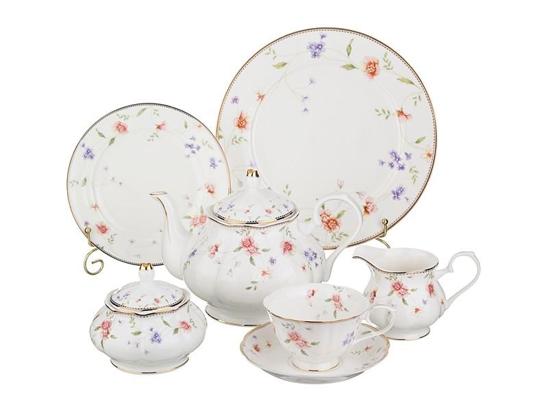 Чайно-десертный сервиз на 12 персон Пасадена