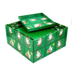 Комплект квадратных коробок Дед Мороз