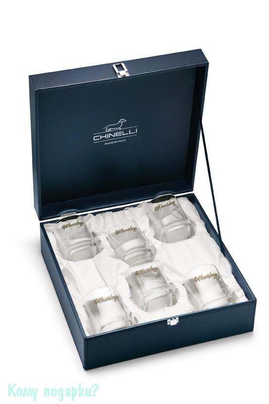 Комплект из шести бокалов для виски