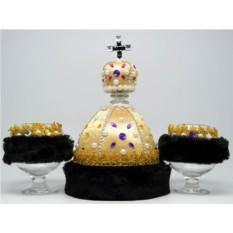 Набор Царский штоф с двумя бокалами