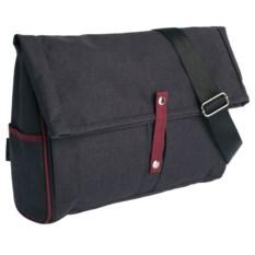 Серая с бордовым сумка для ноутбука 2 в 1 twoFold