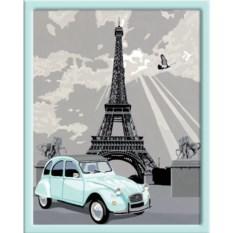Раскраски по номерам Ravensburger Париж