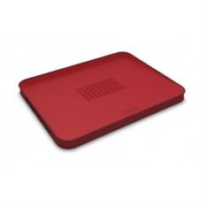 Красная большая разделочная доска для мяса Cut&Carve™ Plus