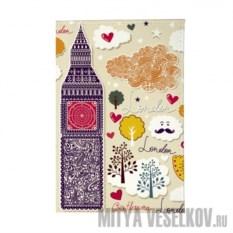 Обложка для паспорта Влюбленный Лондон