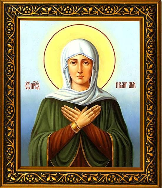 Икона на холсте Лия Святая праведная праматерь