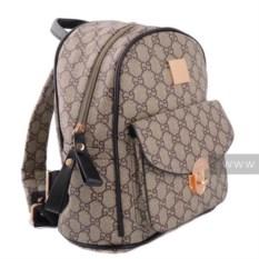 Женский коричневый рюкзак Gucci