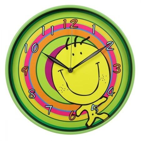 Настенные зеленые часы (Бюрократ)
