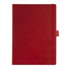 Тёмно-красная записная книжка Freenote Big в линейку