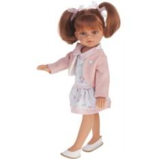 Кукла-девочка Рыжая Эльвира. Летний образ