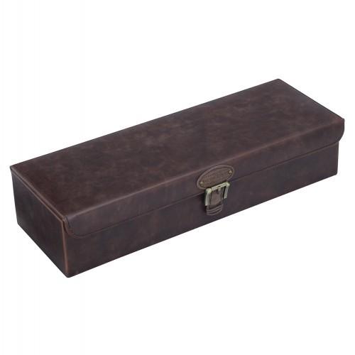 Темно-коричневая шкатулка для хранения 6 часов LC Designs