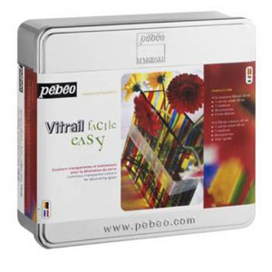 Набор красок для росписи VITRAIL CHRISTMAS BOX2008