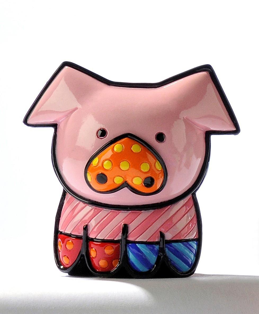 Мини-фигурка свинка PEARLY