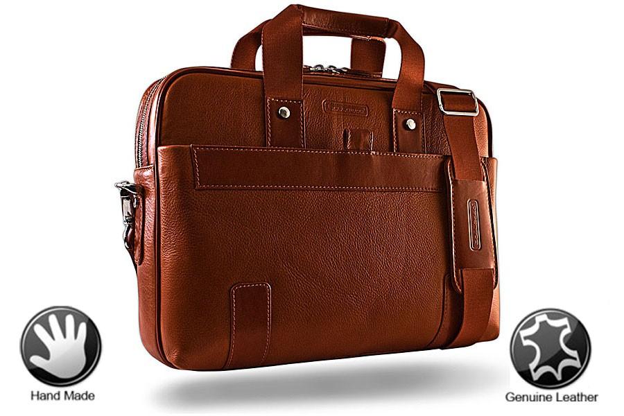 Кожаная сумка для ноутбука Abiding
