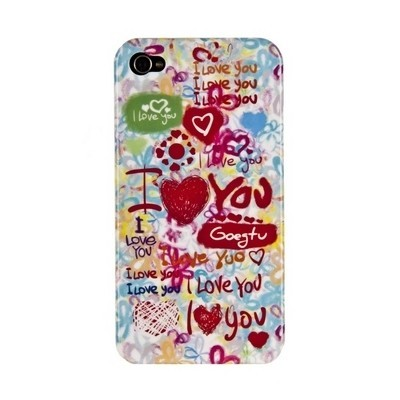 Чехол Goegtu I love you для iPhone 4\4s