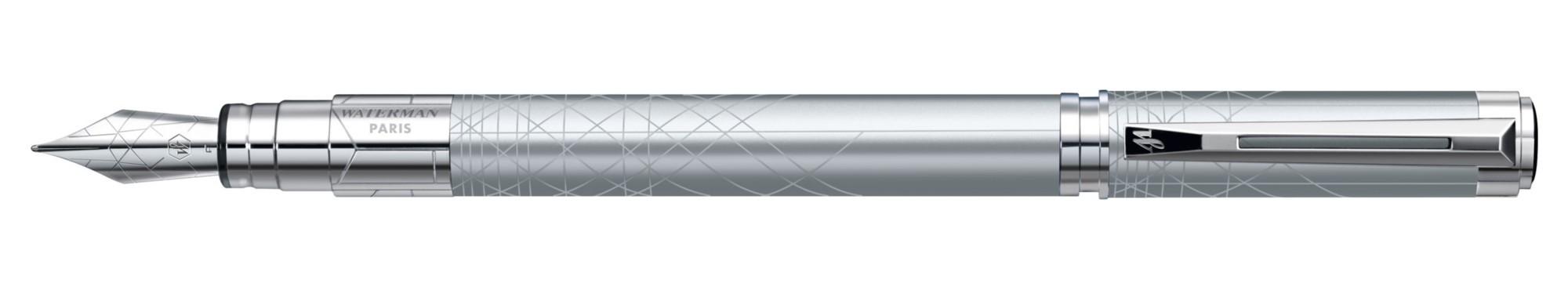 Перьевая ручка Waterman Perspective Silver CT F