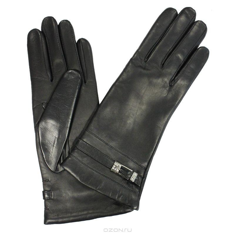 Женские перчатки Edmins с декоративными ремешками