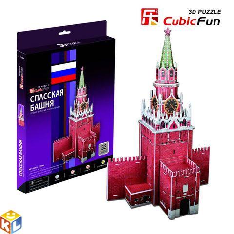 Пазл Cubic Fun Спасская башня