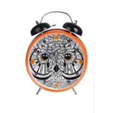 Настольные часы с будильником Филин