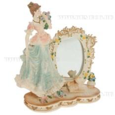 Декоративная фигурка Девушка с зеркалом