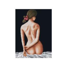 Набор для вышивки стразами «Женственность»