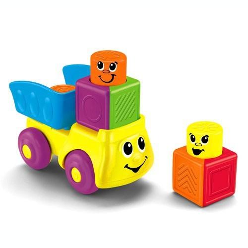 Кубики-блоки с сюрпризами Веселая поездка (Fisher Price)