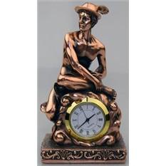 Статуэтка с часами Гермес