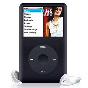 MP3-плеер Apple  iPOD CLASSIC 160G Black