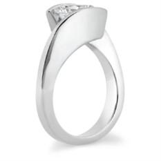 Помолвочное кольцо Ella с муассанитом 2 карата