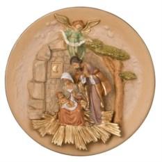 Панно Святое семейство (диаметр 24 см)