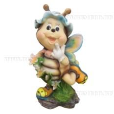 Декоративная садовая фигурка Пчела №1