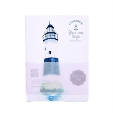 Блокнот Lighthouse White navy